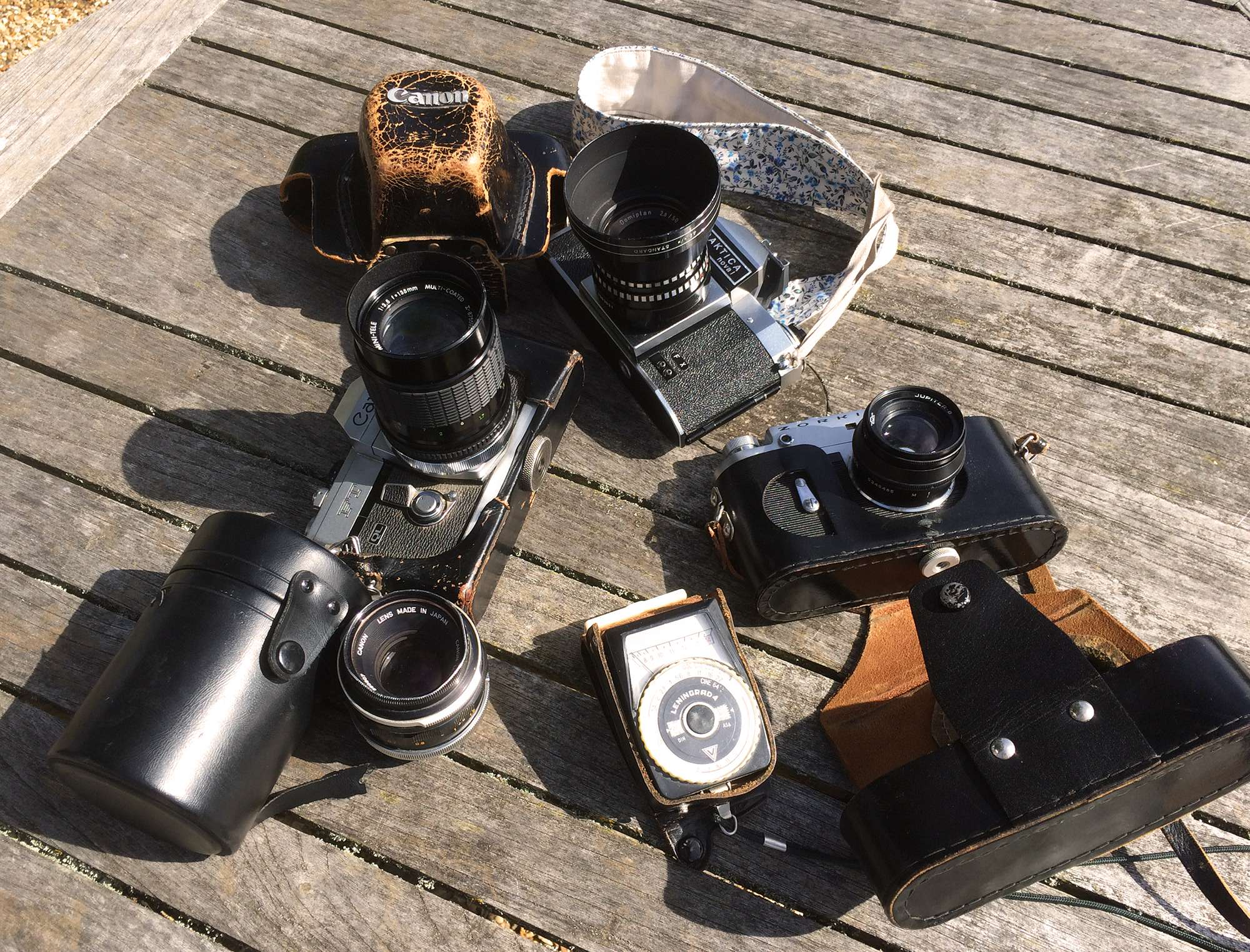 Camera stack