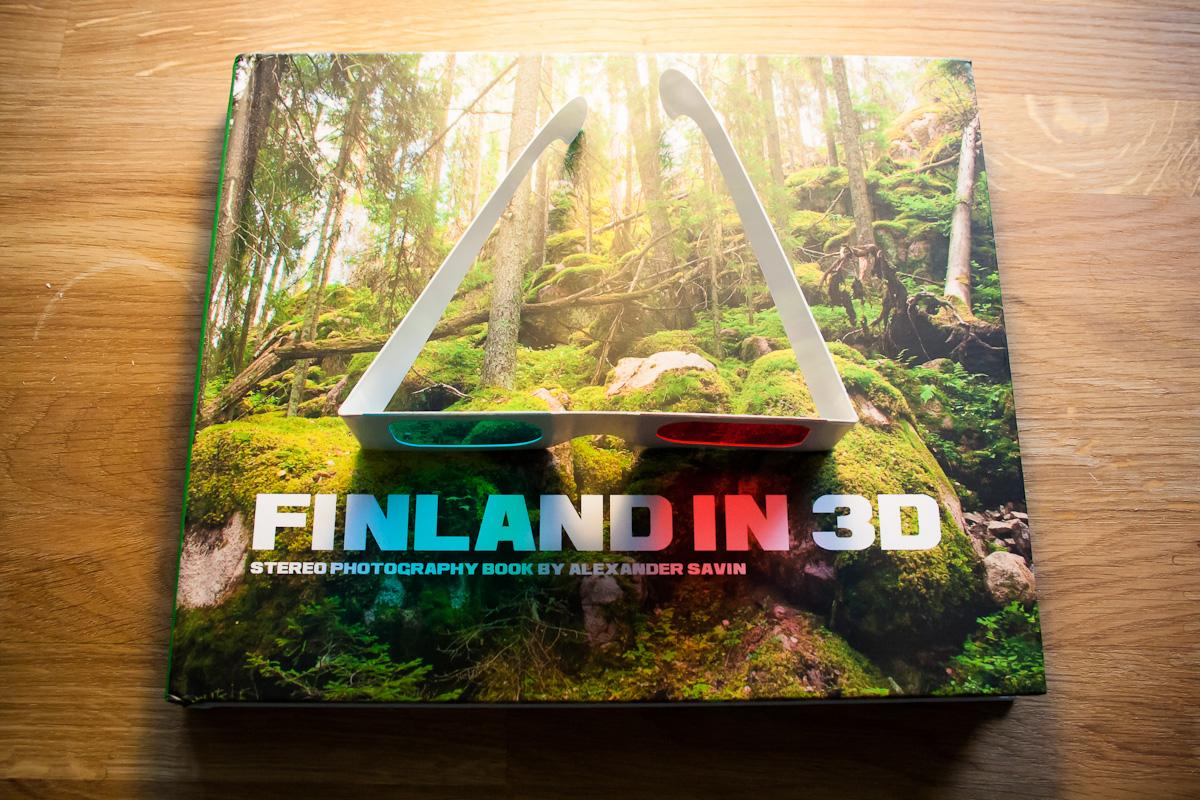 Finland in 3D book