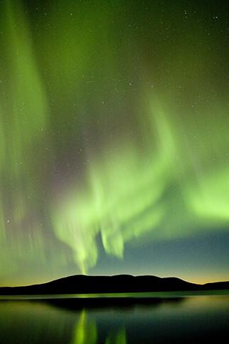 Aurora Borealis alias Northern Lights